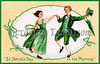 Vintage St. Patrick's Day : A collection of 100-year-old Saint Patrick's Day greeting card illustrations