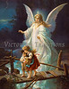 Vintage Angels : Antique illustrations of angels, cherubs, cupids and guardian angels - most are more than 100 years old.